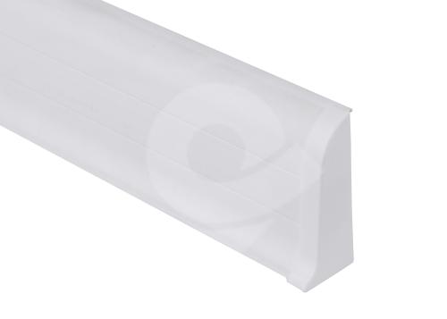 Cezar PREMIUM koncovka pravá, PVC, 59mm, bílá, dekor 089