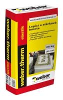 Lepící a stěrková hmota pružná Weber.therm elastik 25kg