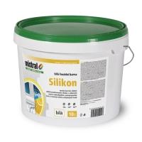 Mistral Silikon bílá silikonová fasádní barva s vysokou kryvostí 10 l