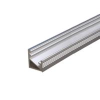 Cezar lišta pro vedení LED pásku rohová 10x14x16,5mm 2m