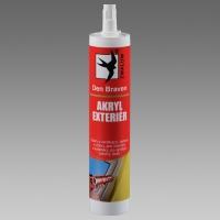 Akrylový tmel Exteriér Den Braven bílý 310ml Red Line