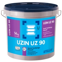 Lepidlo na latexové bázi pro textilní podlahoviny Uzin UZ 90 14kg