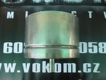 Komínová kondenzátní jímka s vývodem dolů pr. 200mm