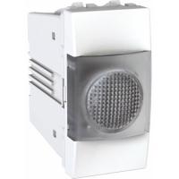 Indikační kontrolka UNICA, 1 modul, čirá (Polar-Bílá)