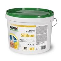 Mistral Silikon Pro Mix B2 silikonová fasádní barva s vysokou kryvostí 1l