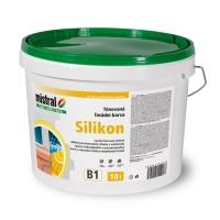 Mistral Silikon Pro Mix B2 silikonová fasádní barva s vysokou kryvostí 10 l