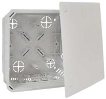 Elektroinstalační krabice Kopos pod omítku s víčkem 150x150x77mm