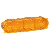 Elektroinstalační krabice Legrand BATIBOX, vestavná, suché příčky, 4x2 moduly, hloubka 40mm