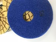 Flexibilní  lešticí diamantový kotouč  na suché opracování teraca (Profi) 125 mm
