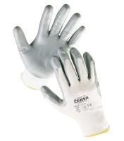 Nylonové rukavice s nitrilovou dlaní BABBLER vel.11