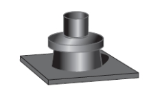 Krycí desky kominu pro kondenzační kotle