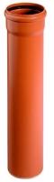 KG venkovní odpadní kanalizační trubka s hrdlem SN 4 KGEM