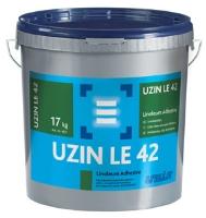 Lepidlo objektové s tvorbou vláken na linoleum Uzin LE 42 17kg