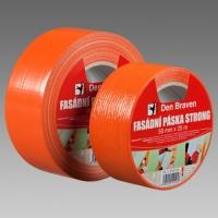 Den Braven  STRONG fasádní páska oranžová 50mm x 25m