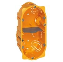 Elektroinstalační krabice Legrand BATIBOX, vestavná, suché příčky, 2x2 moduly, hloubka 50mm