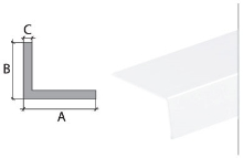 Vingl Cezar plast 25x20mm 2m bílý
