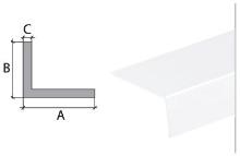 Vingl Cezar plast 40x10mm 2m bílý
