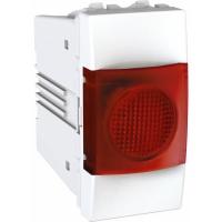 Indikační kontrolka UNICA, 1 modul, červená (Polar-Bílá)