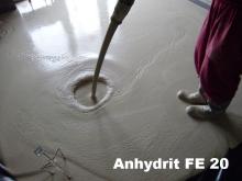 Anhydritová podlaha FE 20 Litý anhydritový potěr