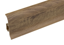 Podlahová lišta soklová Cezar Premium 227