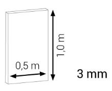 Termoizolační podložka Thermo rapid  tloušťka 3 mm 0,5x1 m