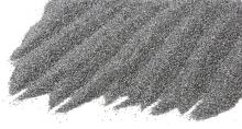 Křemičitý písek barevný stříbrný 0,8-1,2mm 25kg
