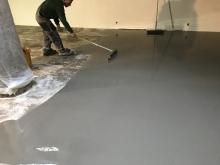 Finální dekorativní samonivelační cementová hmota Sikafloor 432 DecoCem dark grey 25kg