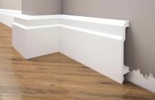 Cezar Elegance podlahová soklová lišta 103x22 mm 2,44 m bílá