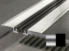 Objektová dilatace Profilpas Procover GJF/40 černá vložka hliník přírodní 40x13x118mm 4m