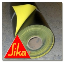 Hydroizolační fólie nevyztužená Sikaplan WP 6100-08H, tl. 0,8mm 1,65x33m, 54,45m2/bal
