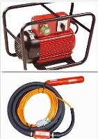 Vibrátor na beton vysokofrekvenční PERLES - měnič+ vibrátor půjčovna