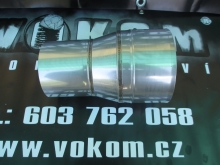 Komínový přechodový díl menší - větší tažený pr. 180mm