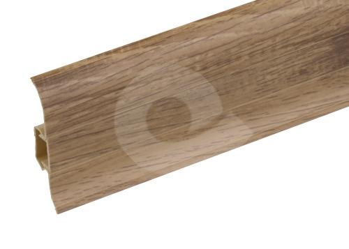 Podlahová lišta soklová Cezar Premium 214