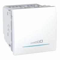 Multizátěžový stmívač UNICA, 2 moduly, 20-350 W/VA (Polar-Bílá)