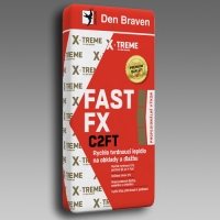 Den Braven rychlé lepidlo na obklady a dlažbu FAST FX C2FT 12kg