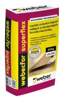 Lepidlo na obklady a dlažbu Weber.for superflex C2TE S2 25kg