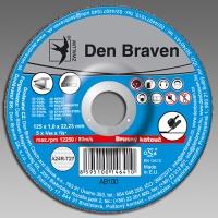 Den Braven brusný kotouč kov/inox A24R-230x6.0x22.23-T27