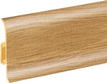 Podlahová lišta soklová Cezar Duo 107