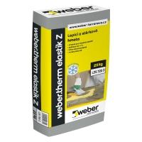 Fasádní lepidlo pro zimní použití Weber therm elastic Z, 25kg