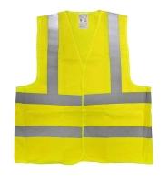 PHT výstražná vesta žlutá velikost XL