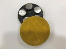 Diamantový 5-bodový brusný nástroj zrnitost 100 (suchy zip) pro broušení betonu, teraca a žuly