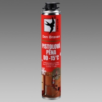 Den Braven pistolová pěna zimní do -15 st. 750ml Red Line