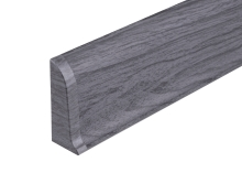 Cezar PREMIUM koncovka levá, PVC, 59mm, dub tmavě šedý, dekor 079