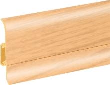 Podlahová lišta soklová Cezar Duo 69