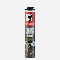 Den Braven nízkoexpanzní polyuretanové lepidlo Thermo Kleber Roof pistolová dóza 750m2