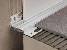 Celokovová objektová dilatace podlaha/zeď Profilpas Projoint NZS/L eloxovaný hliník 20mm 2,7m