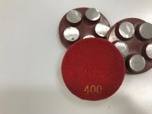 Diamantový 5-bodový brusný nástroj zrnitost 400 (suchy zip) pro broušení betonu, teraca a žuly