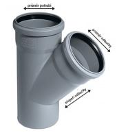 Odbočka HTEA HT systém pro vnitřní odpady