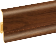 Podlahová lišta soklová Cezar Duo 138