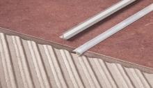 T lišta dělící Cezar 18x10mm přírodní hliník 2,5m